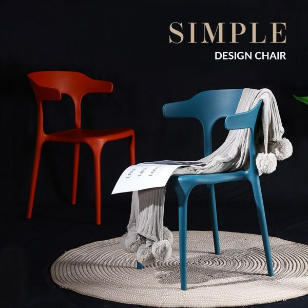 Esty Designer Chair Simple & Nice Plastic Dining Chair Sofa & Chair Home & Living Malaysia, Selangor, Kuala Lumpur (KL) Supplier, Suppliers, Supply, Supplies | Like Bug Sdn Bhd