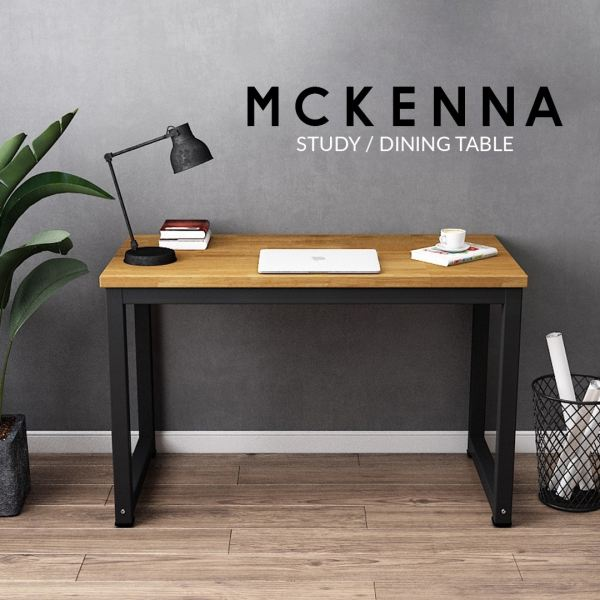 Mckenna Solid Rubberwood Study Table Office Table Office Furniture Malaysia, Selangor, Kuala Lumpur (KL) Supplier, Suppliers, Supply, Supplies | Like Bug Sdn Bhd
