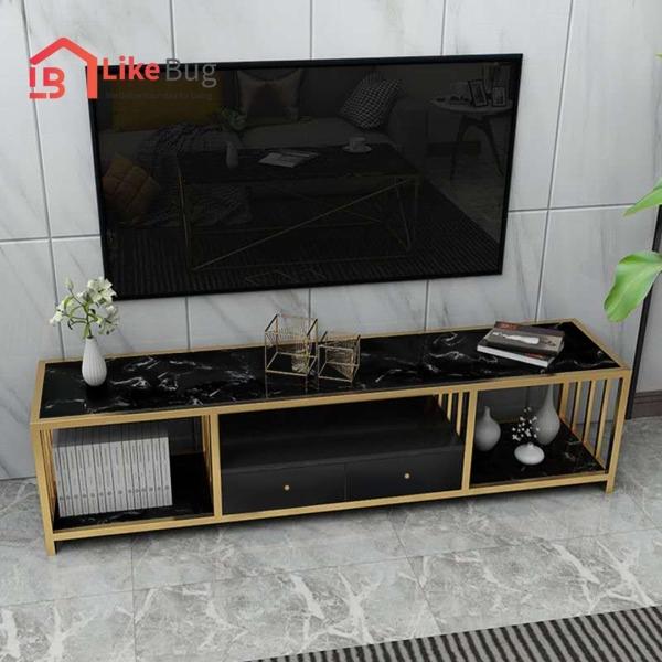 Devora Marble Texture TV Cabinet Table Home & Living Malaysia, Selangor, Kuala Lumpur (KL) Supplier, Suppliers, Supply, Supplies   Like Bug Sdn Bhd