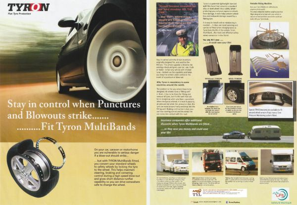 Tyron tyre the safety tyre  for your life and vehicle  AMBULANCE EQUIPMENT  Kuala Lumpur (KL), Malaysia, Selangor Supplier, Suppliers, Supply, Supplies | Mobile Life Automobil Sdn Bhd