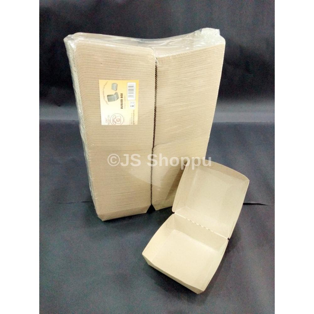 Disposable Paper Burger Box (100pcs+-)