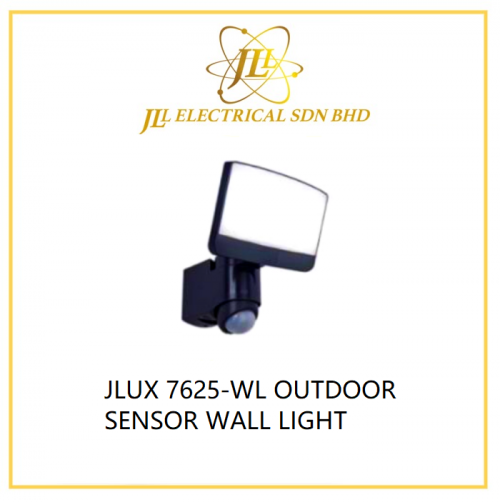 JLUX 7625-WL OUTDOOR SENSOR WALL LIGHT