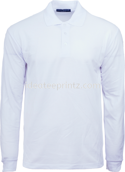 NHB24402 WHITE  COTTON POLO UNISEX  NORTH HARBOUR Kuala Lumpur (KL), Malaysia, Selangor, Cheras, Kepong Supplier, Suppliers, Supply, Supplies | Win Work Marketing