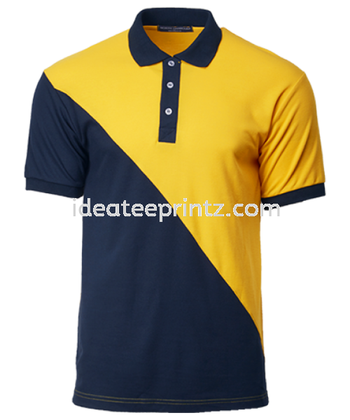 NHB2101 GOLD/NAVY COTTON POLO UNISEX  NORTH HARBOUR Kuala Lumpur (KL), Malaysia, Selangor, Cheras, Kepong Supplier, Suppliers, Supply, Supplies | Win Work Marketing