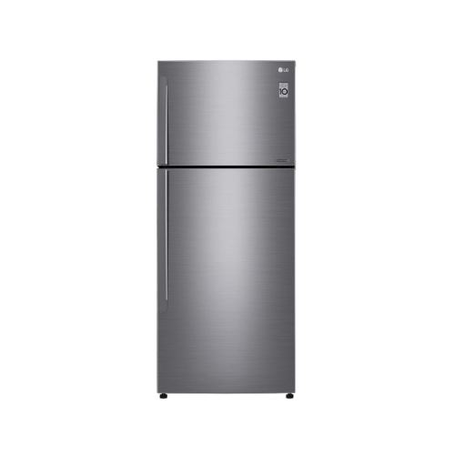 LG Nett 478L Top Freezer Refrigerator with DoorCooling+ & Inverter Linear Compressor , Platinum Silver LG-GNC602HLCC