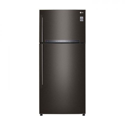 LG Nett 475L Top Freezer Refrigerator with DoorCooling+ & Fresh 0 Zone , Black Metal LG-GNH602HXHC