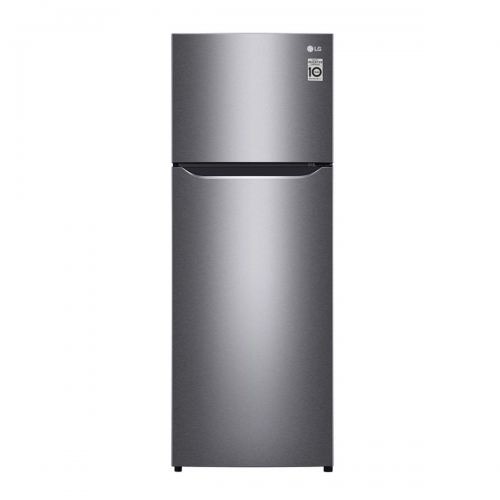 LG Nett 209L Top Freezer Refrigerator with Multi Air Flow & Smart Inverter Compressor, Dark Graphite Steel LG-GNB222SQBB