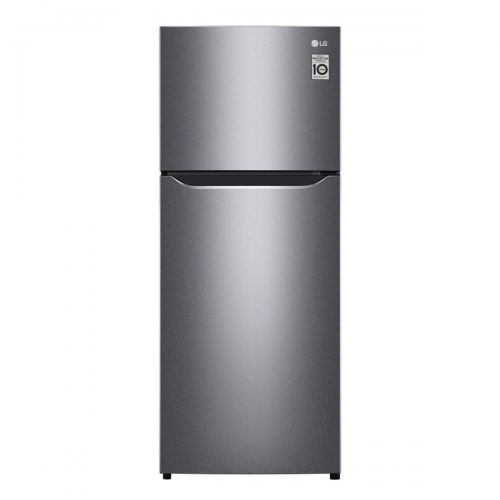 LG Nett 187L Top Freezer Refrigerator with Multi Air Flow & Smart Inverter Compressor, Dark Graphite Steel LG-GNB202SQBB