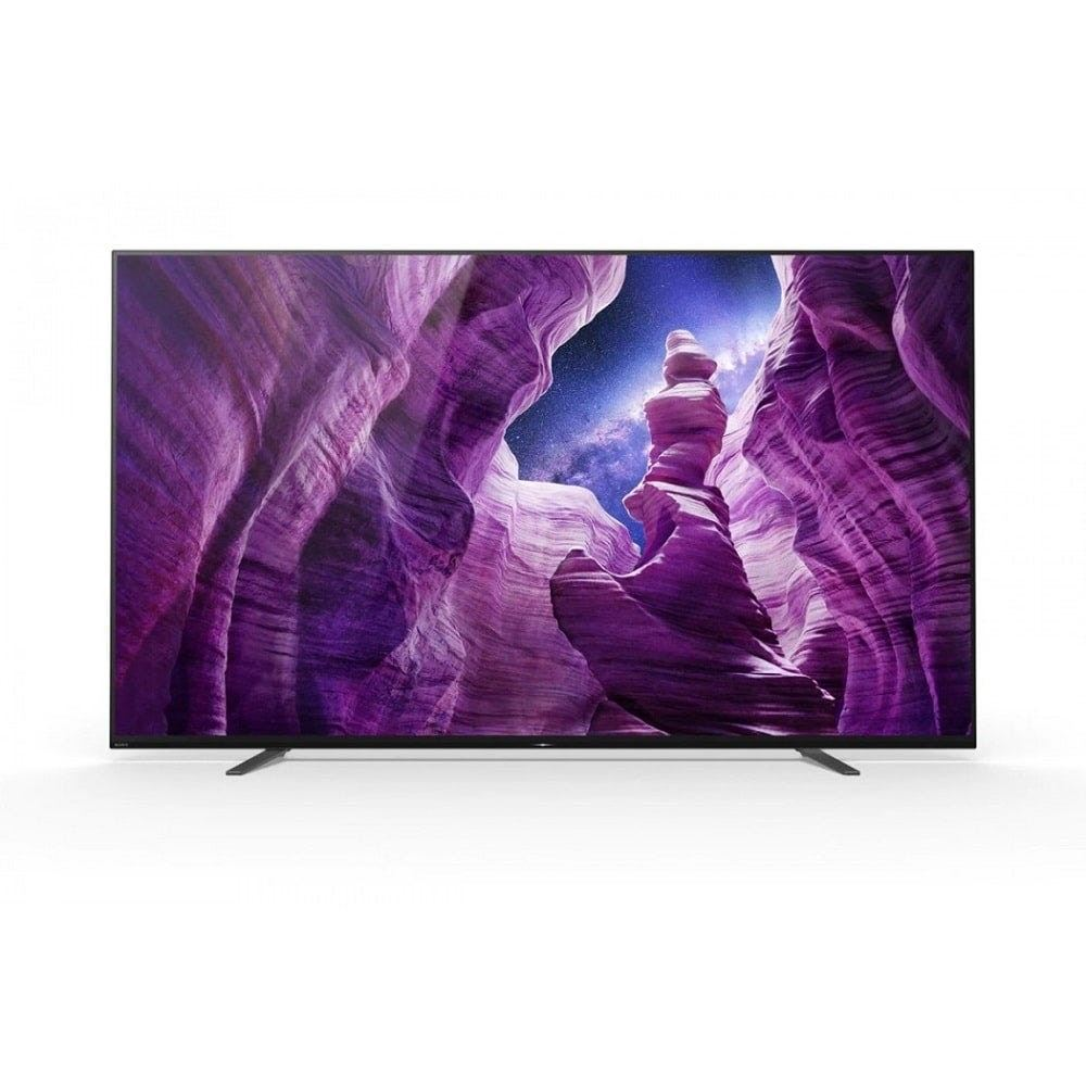 SONYSony 55 Inch A8H OLED 4K Ultra HD High Dynamic Range (HDR) Smart TV (Android TV) SNY-KD55A8H