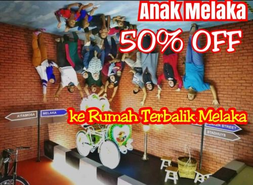 50% off for Malaccan