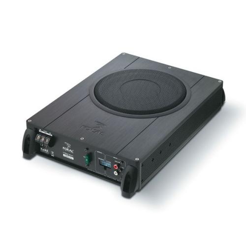 Focal IBus 2.1 Flat Active Subwoofer Enclosure (20cm/8'') + 2-Channel Amplifier