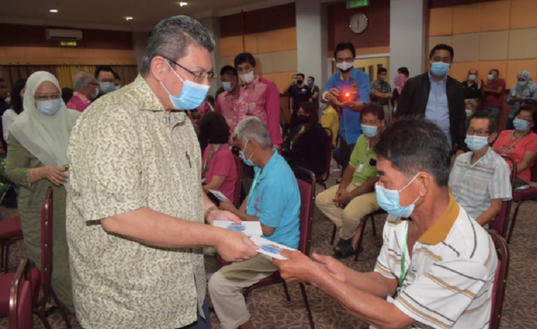 通讯部加强二语言疫情信息传播