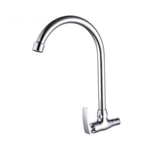 R107BC Wall Sink Tap (Brass)