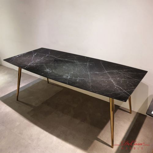 Black Marquina | Spain | 8 seaters | Dining Table Only