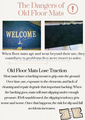 The Dangers of Old Floor Mats
