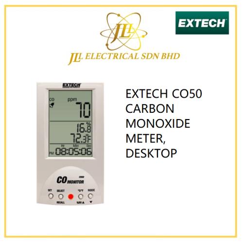 EXTECH CO50 CARBON MONOXIDE METER, DESKTOP