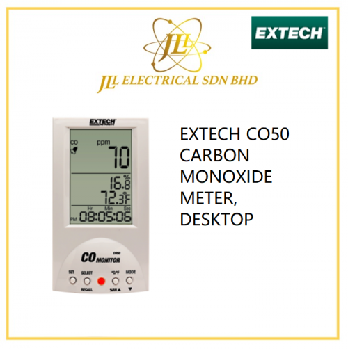 EXTECH CO50 CARBON MONOXIDE METER, DESKTOP