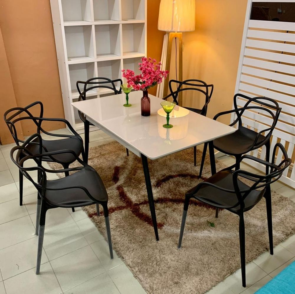 Dining Table Tempered Glass