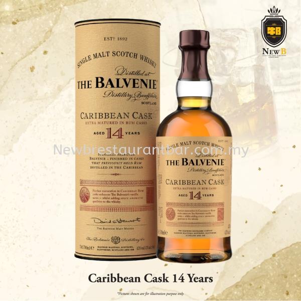 THE BALVENIE Caribbean Cask 14 Year Old Whisky Liquor Puchong, Selangor, Malaysia, Kuala Lumpur (KL) Restaurant | Uber Management Sdn Bhd