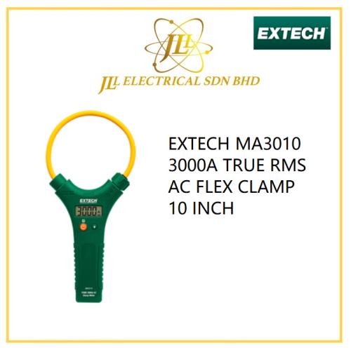 EXTECH MA3010 3000A TRUE RMS AC FLEX CLAMP 10 INCH