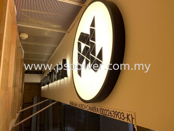 Front Lit Logo LED Signage with Backlit LED Signage LED SIGNAGE SIGNAGE Selangor, Malaysia, Kuala Lumpur (KL), Puchong Manufacturer, Maker, Supplier, Supply   PS Power Signs Sdn Bhd
