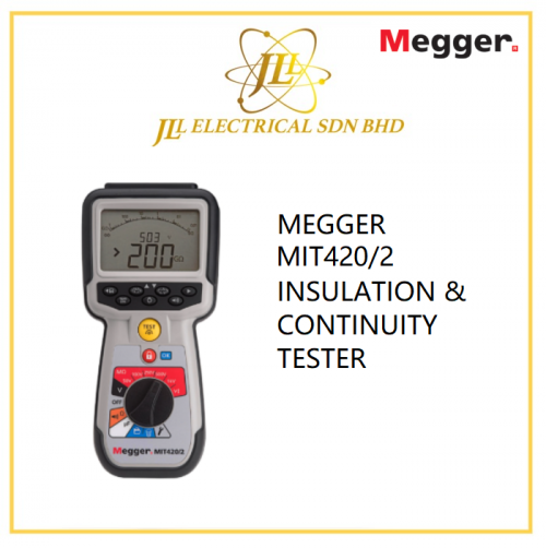 MEGGER MIT420/2 INSULATION & CONTINUITY TESTER