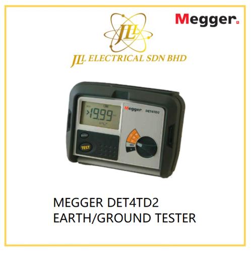 MEGGER DET4TD2 EARTH/GROUND TESTER