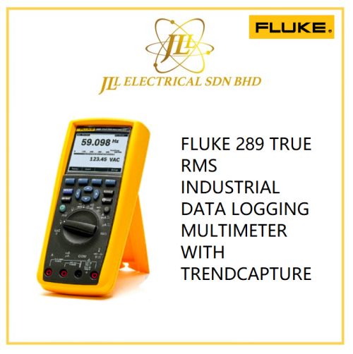 FLUKE 289 TRUE RMS INDUSTRIAL DATA LOGGING MULTIMETER WITH TRENDCAPTURE