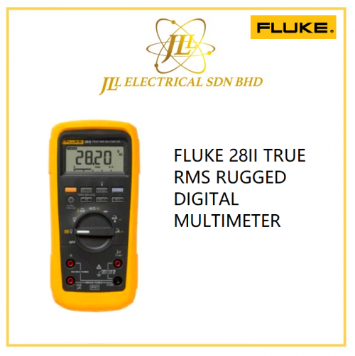 FLUKE 28II TRUE RMS RUGGED DIGITAL MULTIMETER