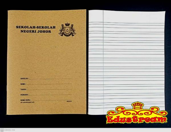 READY STOCK!!!Triple Line Exercise Book 80 Pages Exercise Book Writing & Correction Stationery & Craft Johor Bahru (JB), Malaysia Supplier, Suppliers, Supply, Supplies | Edustream Sdn Bhd