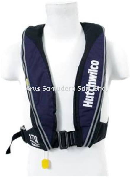 HUTCHWILCO LIFEJACKET 170N Safety Equipment Malaysia, Perak Supplier, Suppliers, Supply, Supplies | Arus Samudera Sdn Bhd