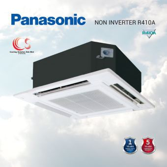 (PV18RB4H) PANASONIC NON INVERTER R410 MINI CASSETTE 1.0HP - 1.5HP Air Conditioner/ Aircond