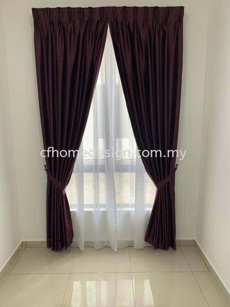 Curtains Matte Fabric  Seremban 2 CURTAINS Seremban, Negeri Sembilan, Malaysia Supplier, Suppliers, Supply, Supplies   CF Interior Home Design