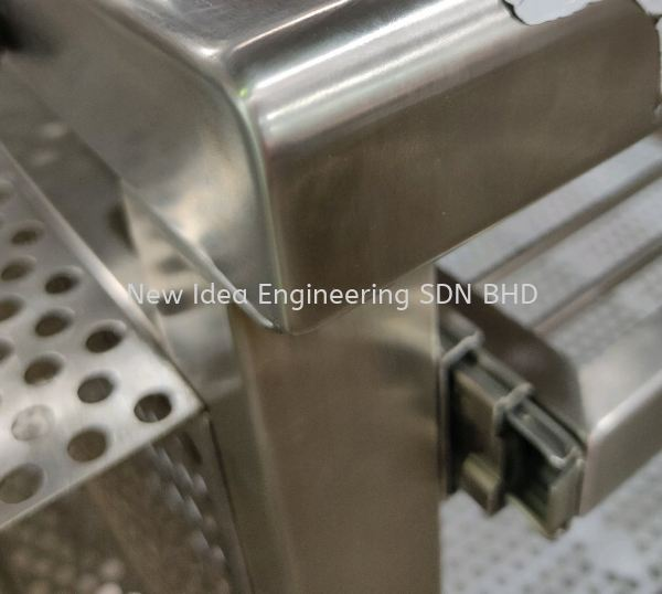 weld and polish workmanship Clean Room Furniture Penang, Malaysia, Bukit Mertajam Supplier, Suppliers, Supply, Supplies | New Idea Engineering Sdn Bhd