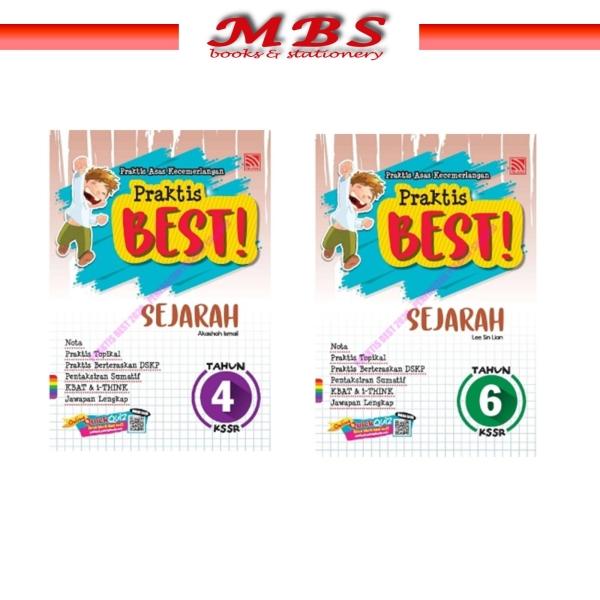 PELANGI:PRAKTIS BEST 2021 KSSR- SEJARAH TAHUN 4 DAN 6 Sekolah Rendah Academic Books Pahang, Malaysia, Terengganu, Kuantan, Mentakab, Pekan Supplier, Suppliers, Supply, Supplies   MBS BOOKS & STATIONERY
