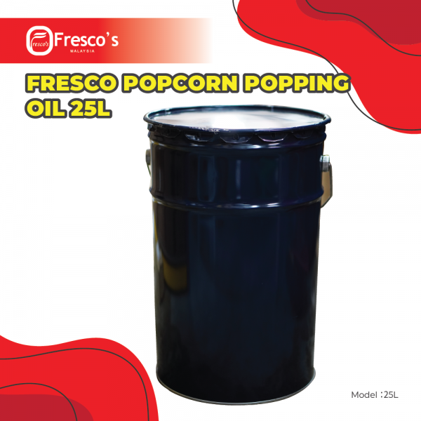 Fresco PopCorn Popping Oil 25L Others Kuala Lumpur, KL, Malaysia Supply, Supplier, Suppliers | Fresco Cocoa Supply PLT