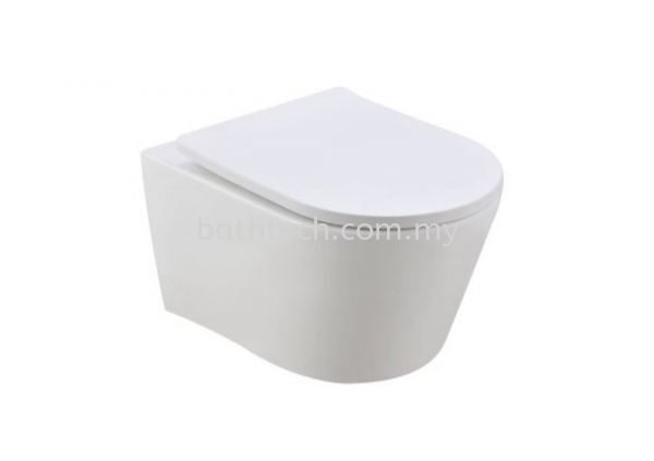 Treviso Wall Hung WC (Rimless) Johnson Suisse  Wall Hung WCs Water Closet Johor Bahru (JB), Malaysia, Johor Jaya Supplier, Suppliers, Supply, Supplies | Bathtech Building Products Sdn Bhd