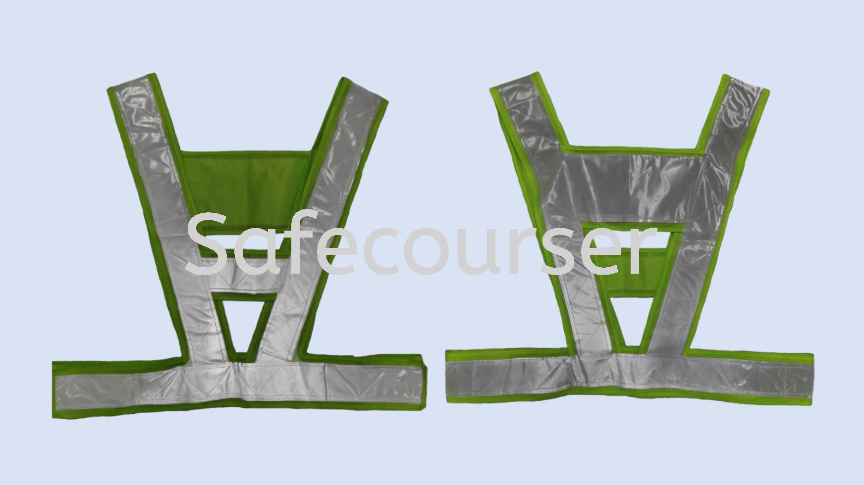 A-Shape PVC Reflective Safety Vest