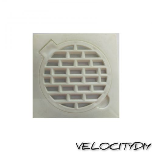 100mm PVC ROUND GRATING-DOUBLE(3115)