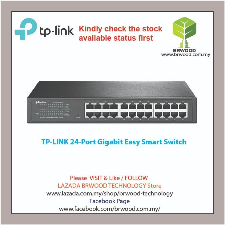 TP-Link TL-SG1024DE: 24-Port Gigabit Easy Smart Switch