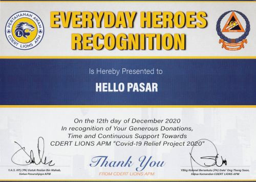 Everyday Heroes Recognition