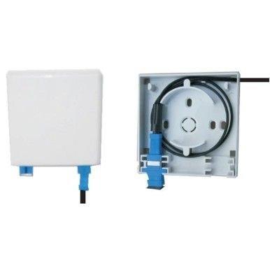FIBER WALL SOCKET 1/2 PORT SC CONNECTOR Fiber To The Home (FTTH) Fiber Optic Components Kota Kinabalu    Startech IT Sdn Bhd