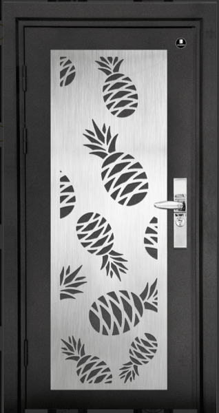 D1-950 Laser Cut Design Deluxe Security Door  Doors Johor Bahru JB Malaysia Supplier, Supply, Supplies | KOON SIONG KEY MARKETING SDN BHD