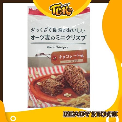 JAPAN OAT CRISPY COOKIES CHOCOLATE 日本巧克力麦片饼零食