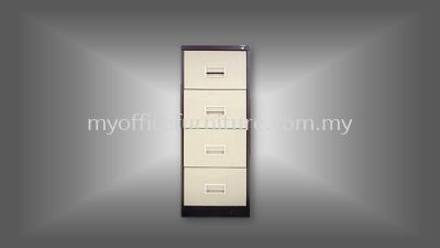 MY-S106AB - 4 DRAWERS FILING CABINET (RM 438.00/UNIT)