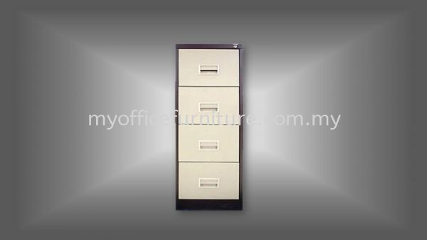 MY-S106AB - 4 DRAWERS FILING CABINET (RM 438.00/UNIT) Steel Cabinets & Steel Furniture FILING CABINETS & STORAGE Selangor, Malaysia, Kuala Lumpur (KL), Klang Supplier, Suppliers, Supply, Supplies | myofficefurniture.com.my