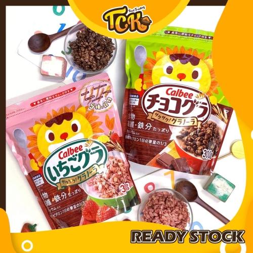 JAPAN CALBEE CRISPY GRANOLA 日本卡乐比健康谷粮