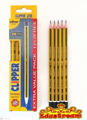 Dolphin Clipper 2B Pencils