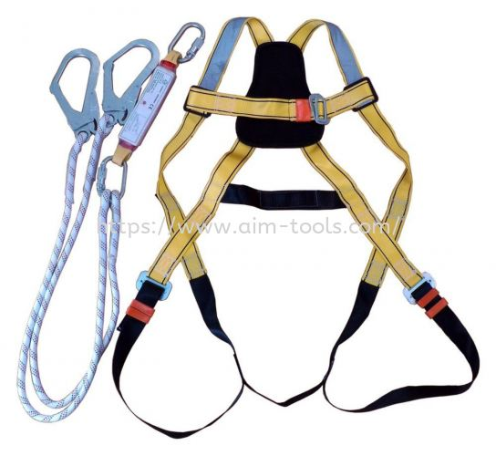 AIM SAFETY FULL BODY HARNESS AIS-FBH-TCLH-EA-2