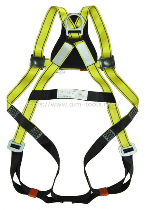 AIM SAFETY BODY HARNESS WITH D-RING AIS-BH141